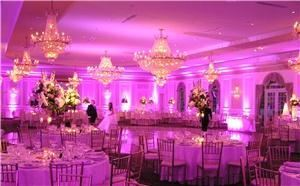 Hourglass Event Lighting