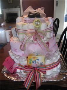 Bottoms Up Custom Diaper Cakes