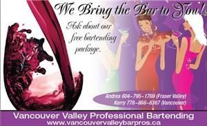 Vancouver Valley Professional Bartending