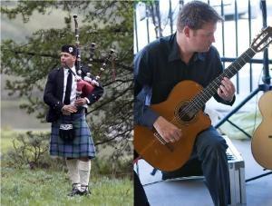Bagpiper & Guitarist- Michael Lancaster