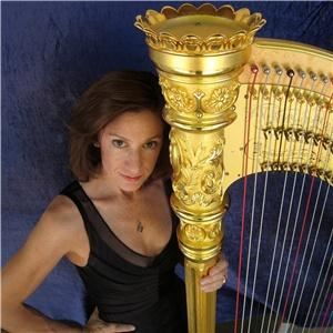 Harpist Dr. Christine Vivona