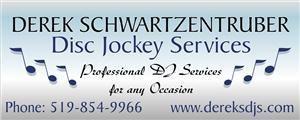 DEREK SCHWARTZENTRUBER DJ Services