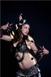 Belly Dance, Fire, Burlesque & Hoop Dance w/ Valentina