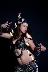 Belly Dance, Fire, Burlesque & Hoop Dance w/ Valentina