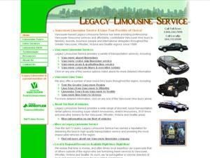 Legacy Limousine Vancouver