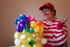 Jolly Holly The Balloon Twister and Clown