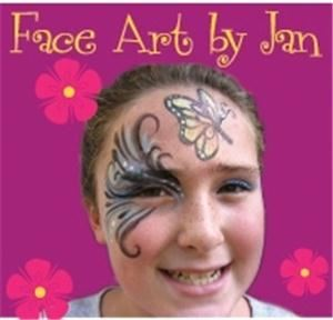 Face Art by Jan Face Painting for parties