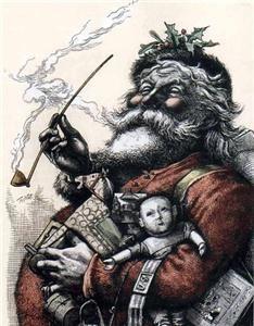 Santa Claus visits Evansville Indiana