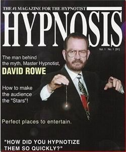 Hypnotist David Rowe