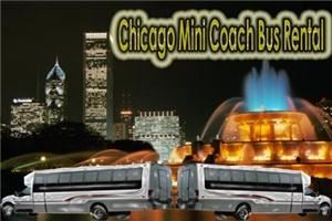 Chicago Mini Coach Bus Rental