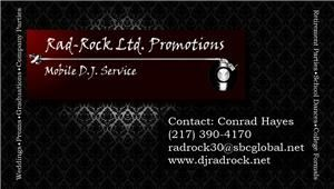 Rad-Rock Ltd. Promotions