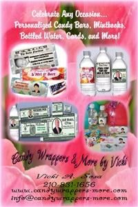 Candy Wrappers & More by Vicki