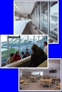 Press Box and Dining Room
