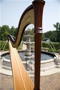 Anastasia Pike, Harpist