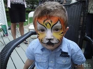 Montreal Face Painting - Maquillage Faceforward Facepainting