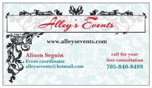 Alley's Events