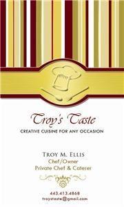 Troy's Taste