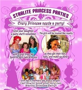 Starlite Princess Parties
