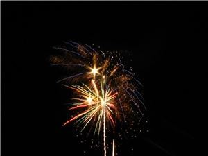 Lantis Fireworks and laser