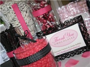 Thank You Chocolates & Candy Buffets
