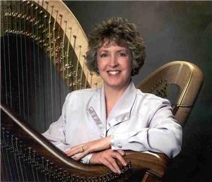 Harpist Serena O'Meara