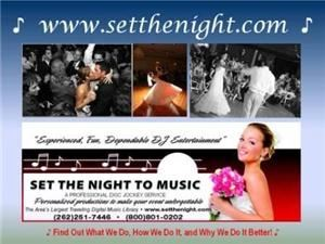 Set The Night To Music DJ's - Waukesha