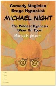 Michael Night Magician, Hypnotist, Comic