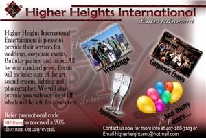 Higher Heights International Entertainment