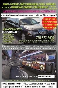 newnan peachtree city mercedes benz S550 amg limousine