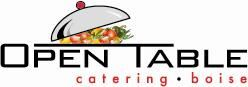 Open Table Boise Catering