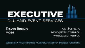 Executive DJ & Event Services