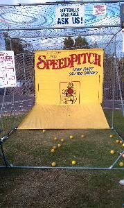Robo Ball Speed Pitch - See How Fast You Can Throw!