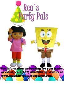 Rea's Party Pals