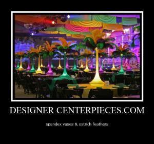 Designer Centerpieces