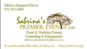 Sabrinas Premier Events