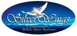 Silver Wings Ceremonial White Dove Release