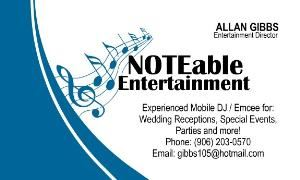 NOTEable Entertainment