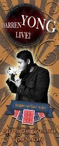 Magician Darren Yong