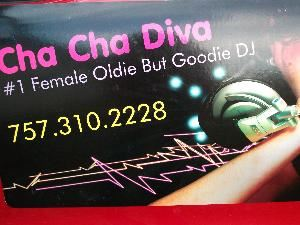 Cha Cha Diva Mobile Disc-Jockey