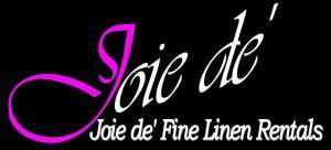 Joie De' Linen Rentals