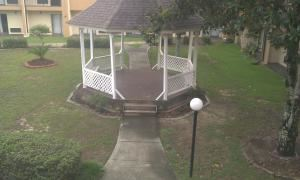 Outside Gazebo and lawn space