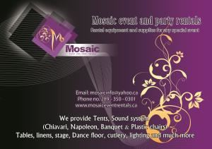 Moasaic Event and Party Rentals