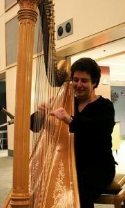 Harpist / Myra Kovary