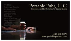 Portable Pubs Bartending Services