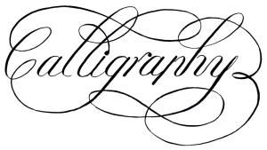 Calligraphy For Life's Celebrations!