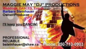 "Maggie May ""DJ"" Productions"