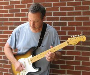 Guitarist Eric James