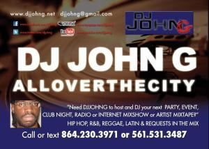 DJJOHNG ALLOVERTHECITY