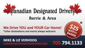 Canadian Designated Drivers