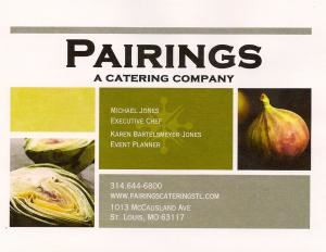 Pairings A Catering Company